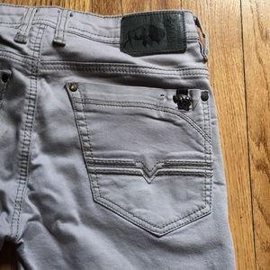 Grey men's jeans